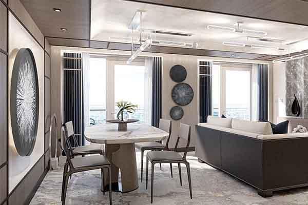 Grandeur Suite Living Area