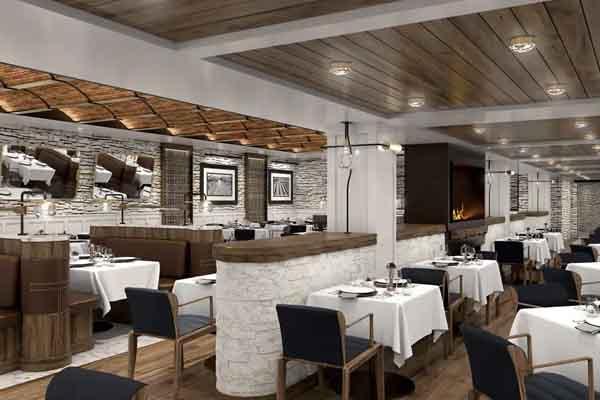 Oceania Vista Embers Restaurant