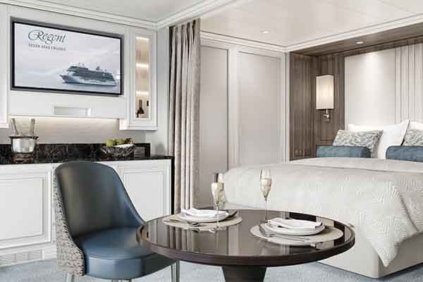 Veranda Suite - Seven Seas Grandeur Accommodation